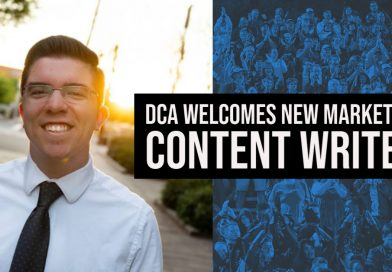 DCA Welcomes Marketing Content Writer