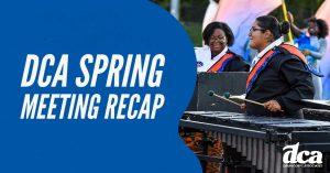 DCA Spring Meeting