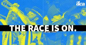 RACE IS ON